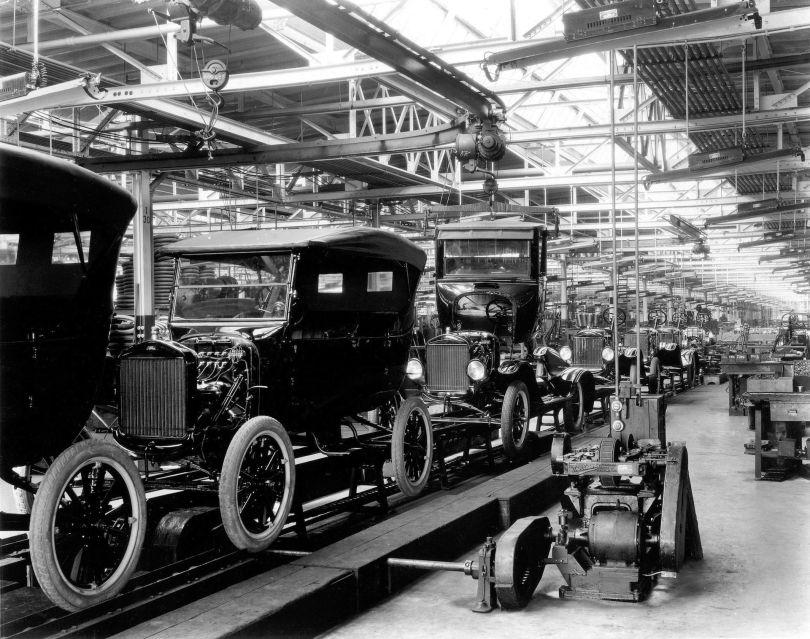 Chaîne de montage Ford
