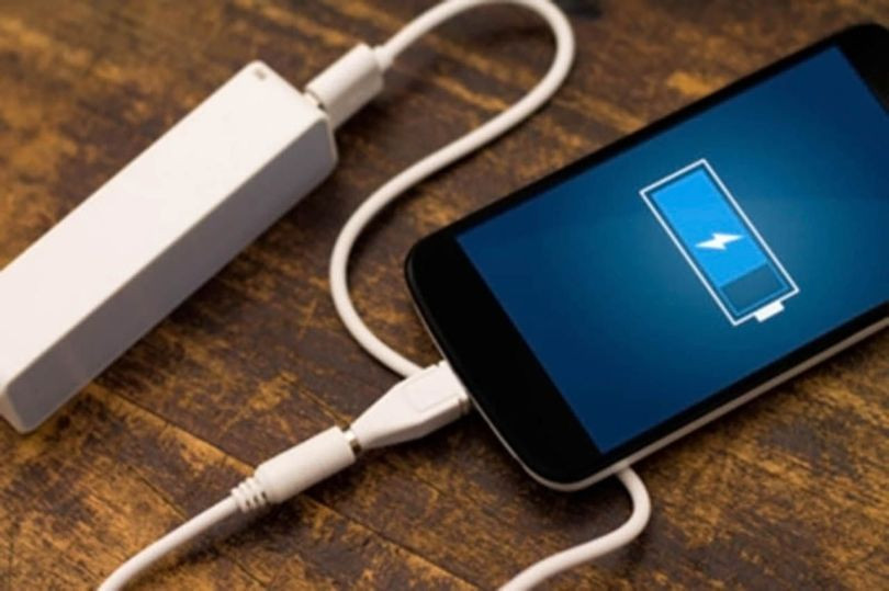 Chargeur batterie externe smartphone