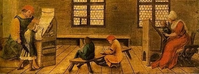 Ecole - Moyen Âge - 3