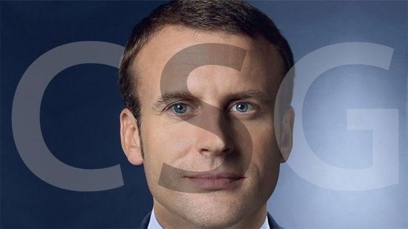 Macron - CSG