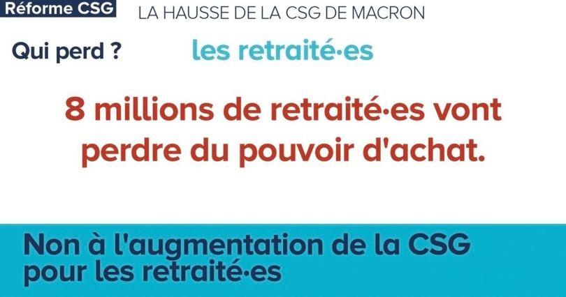 Retraités - CSG