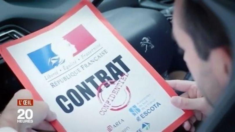 Accord secret entre l'Etat et les sociétés d'autoroutes