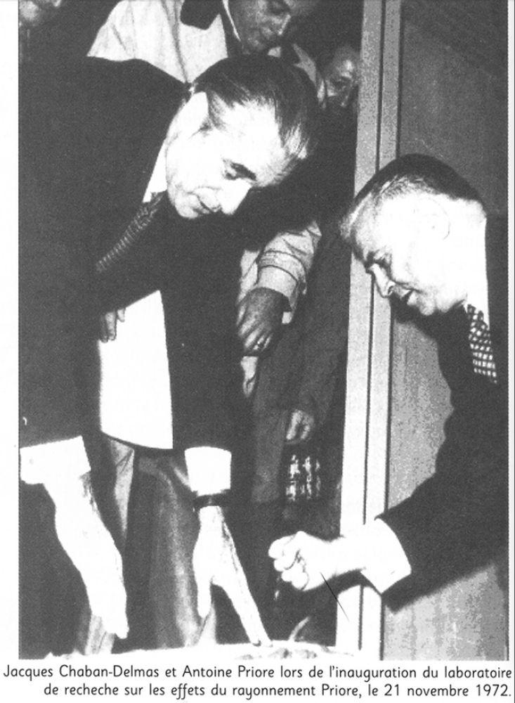 Antoine Priore & Jacques Chaban-Delmas [1972]