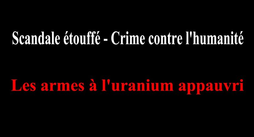 Armes à l'uranium appauvri - 2