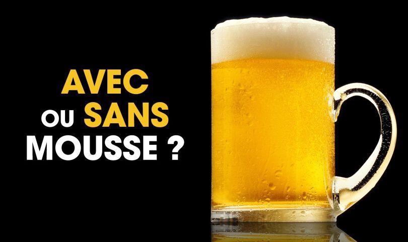 Bière - Mousse