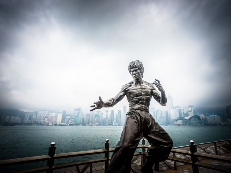 Bruce Lee - Statue - Hong Kong