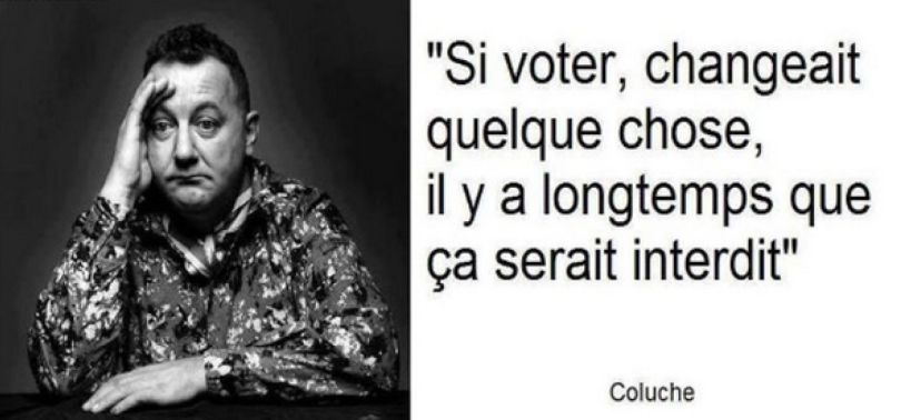 Coluche - Politique - 2