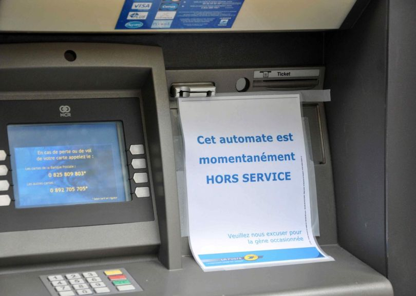 DAB - Distributeur automatique de billets - 1