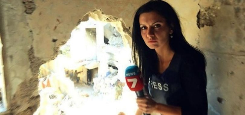 Dilyana Gaytandzhiev - Journaliste Bulgare - Armes - Syrie - 2