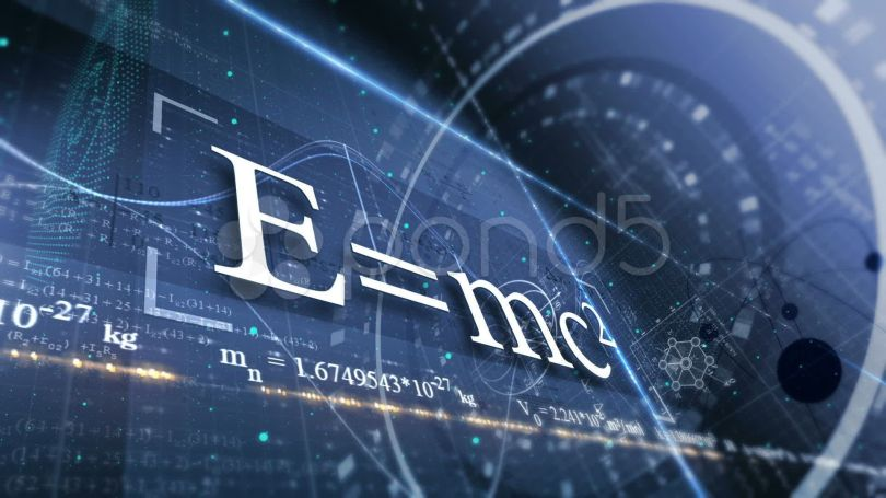 E = mc2 - Wallpaper