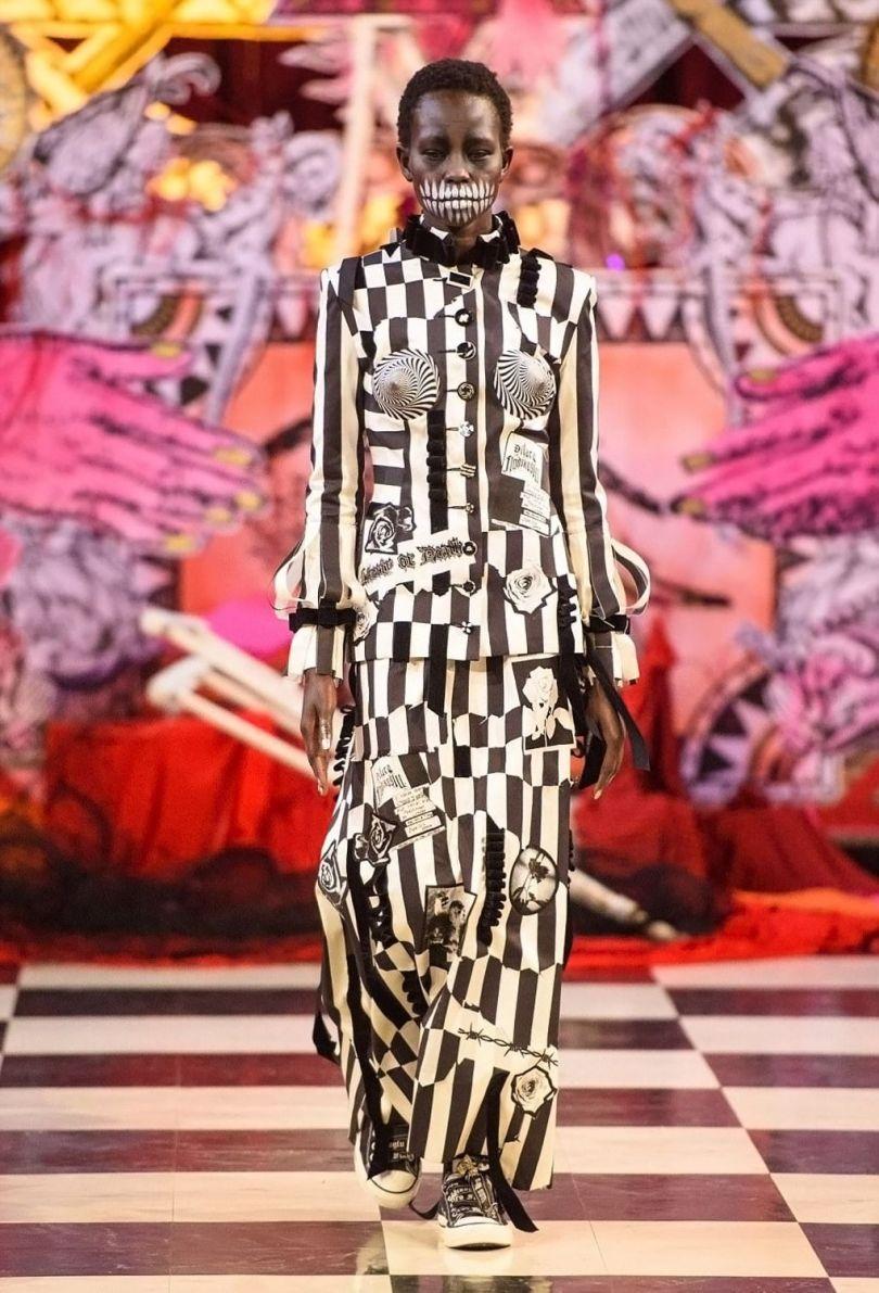 London Fashion Week Satanic - 1