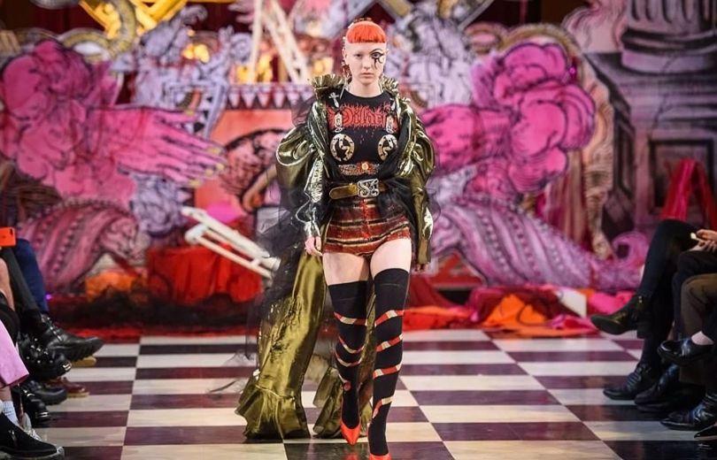 London Fashion Week Satanic - 12