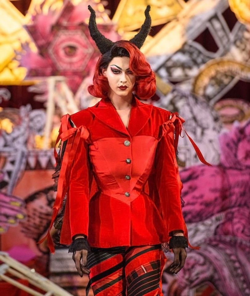 London Fashion Week Satanic - 14