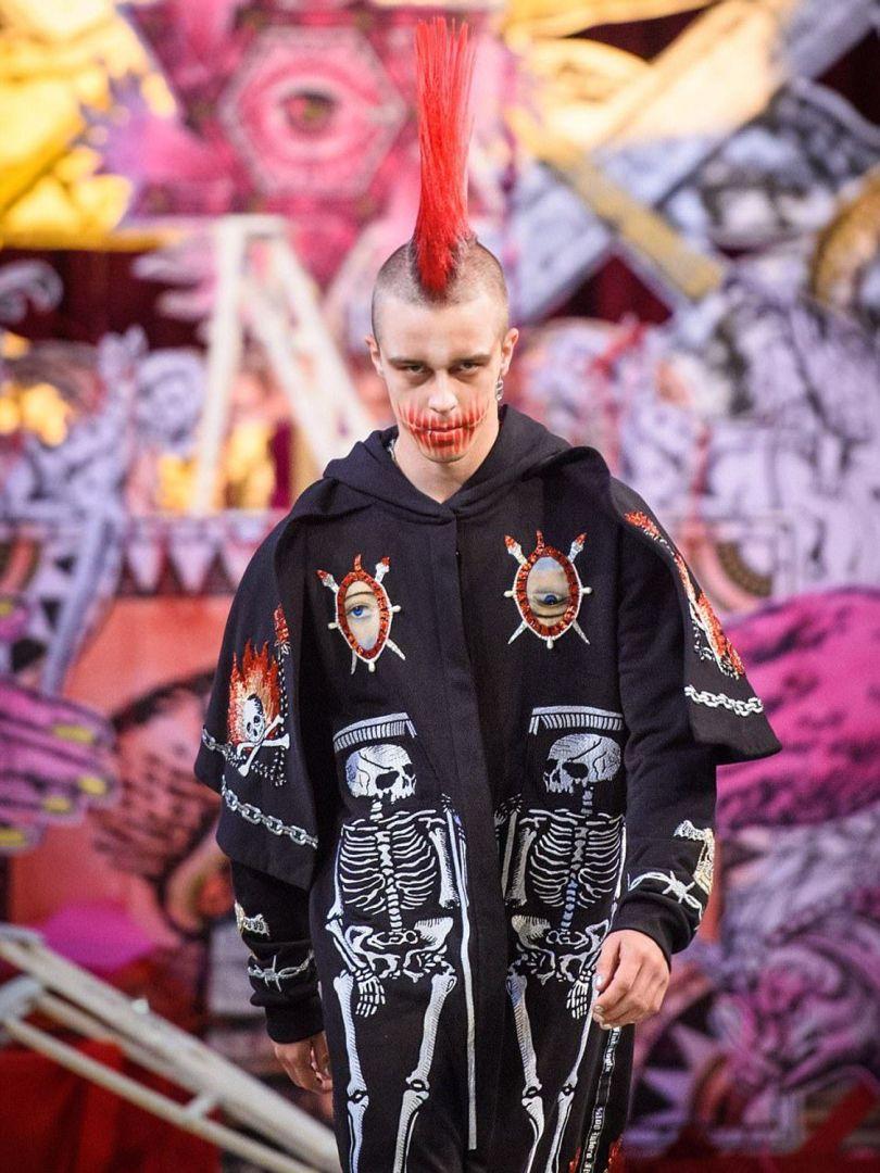 London Fashion Week Satanic - 17