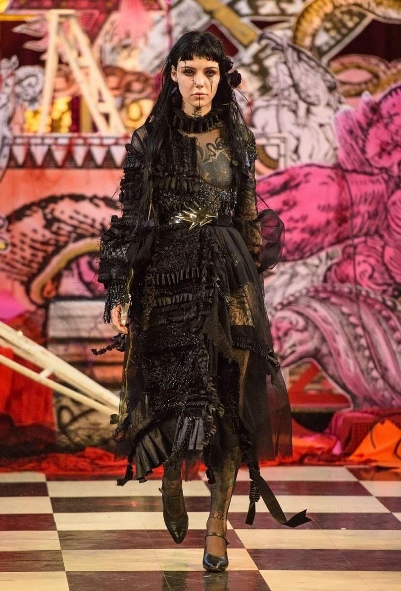 London Fashion Week Satanic - 4