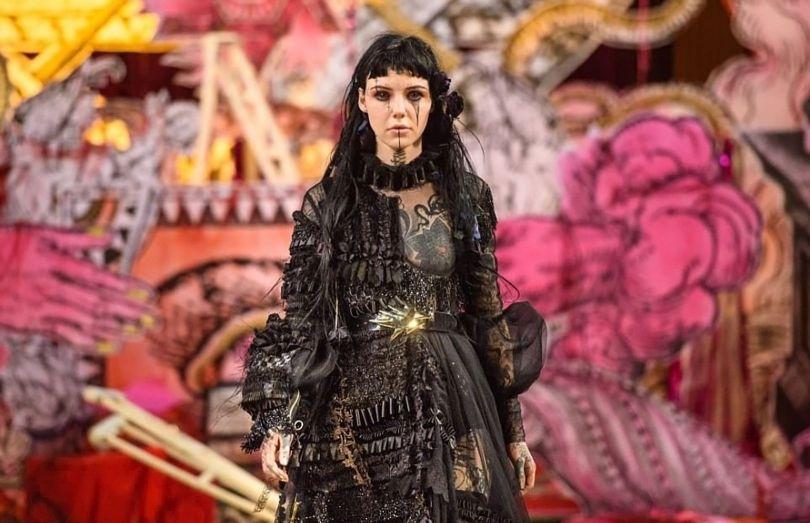 London Fashion Week Satanic - 5