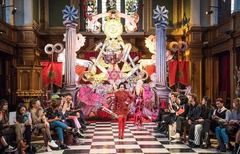 London Fashion Week Satanic - 7