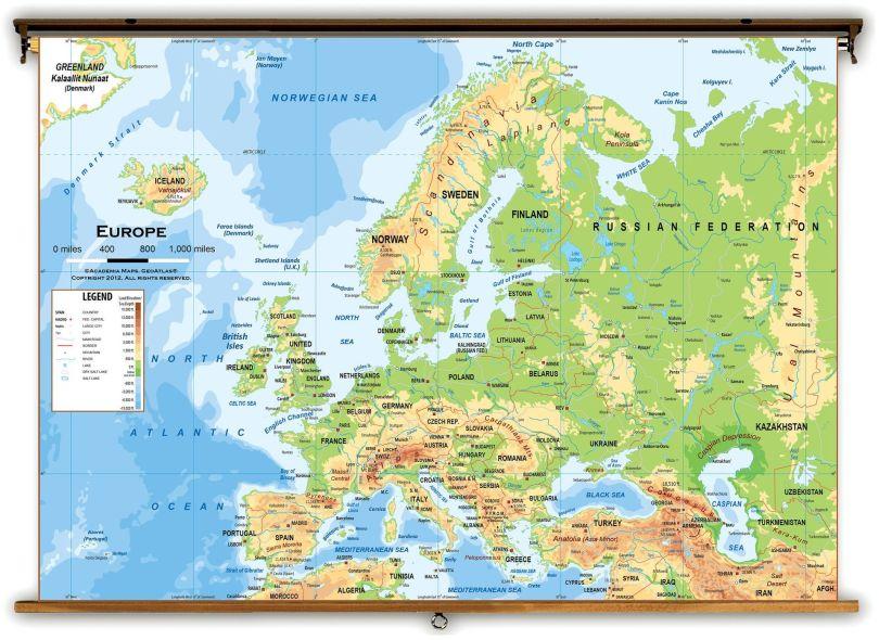 Map - Carte - Europe - 1
