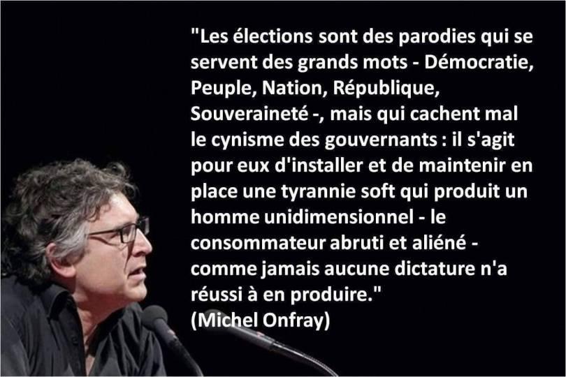 Michel Onfray - Politique