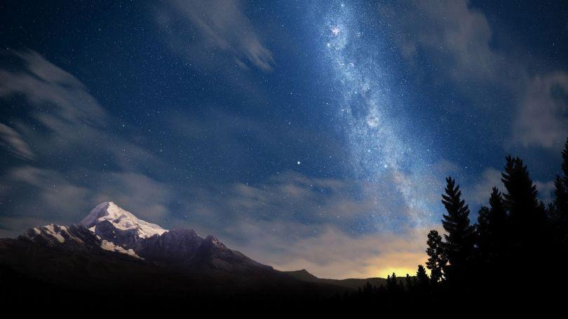 Montagne - Voie Lactée