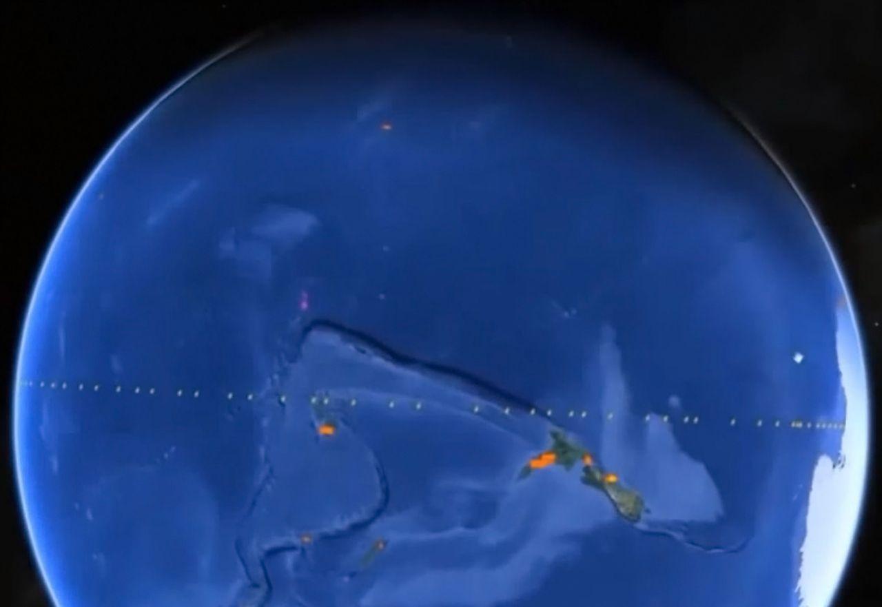 Mur - Wall - Google Earth - 3