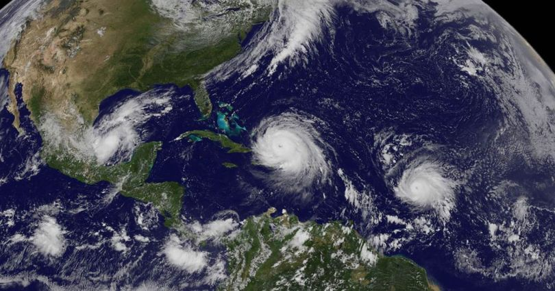 Ouragans - Hurricane - Irma -Katia - Jose- Satellite