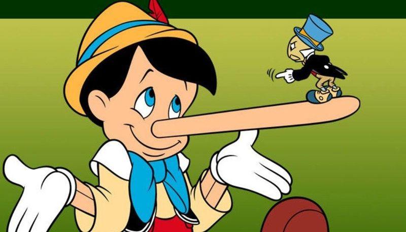 Pinocchio - Mensonge - Nez