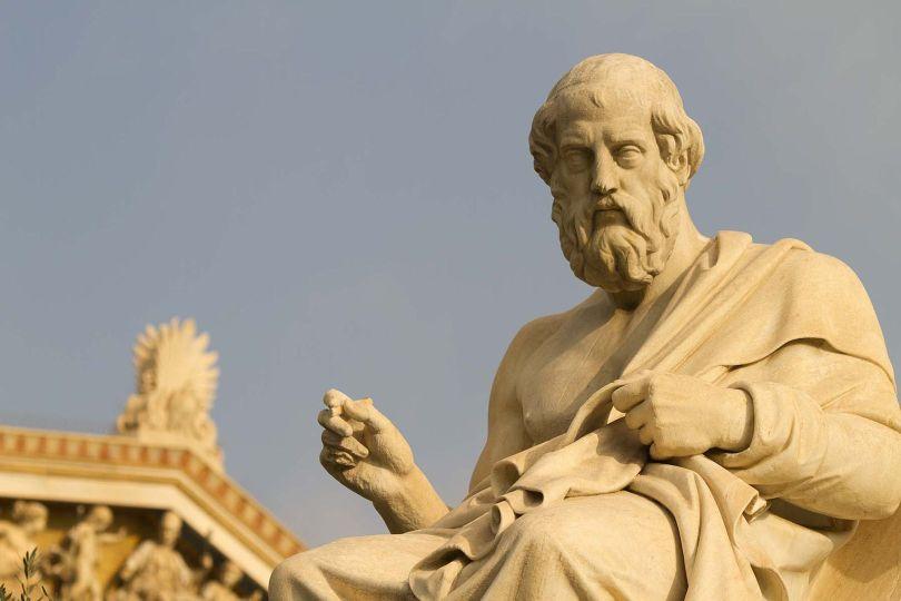 Platon - Statue