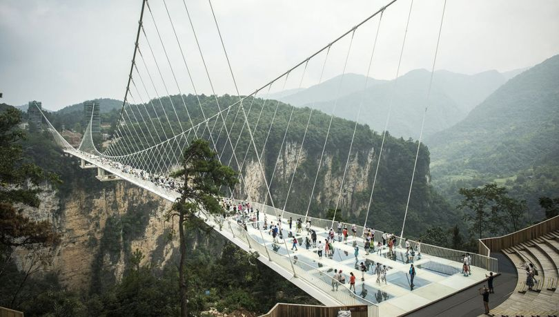 Pont en verre - Glass bridge - China - 3