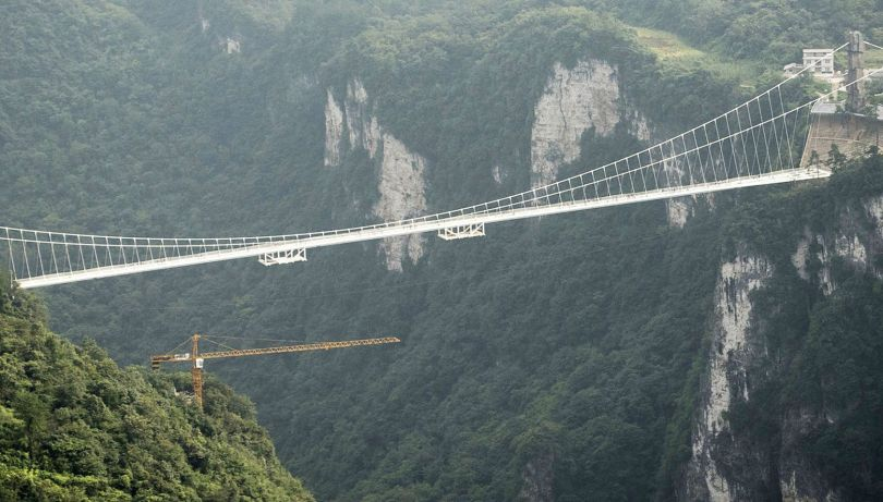 Pont en verre - Glass bridge - China - 4