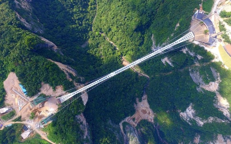 Pont en verre - Glass bridge - China - 6