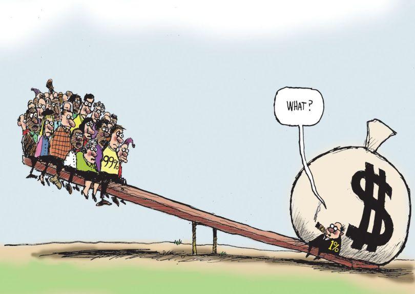 Répartition richesse mondiale
