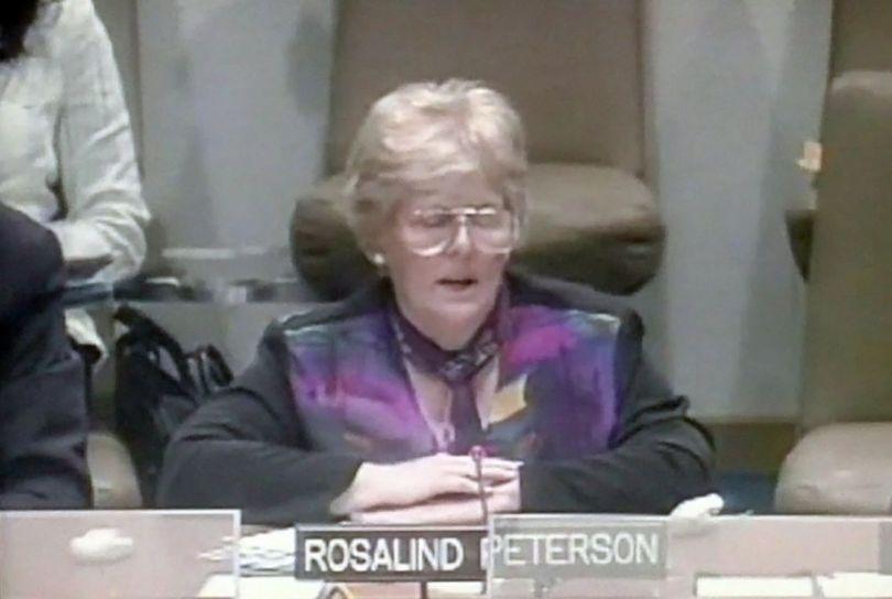 Rosalind Peterson - ONU - 2007