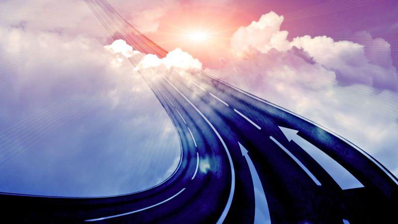 Route - Ciel - Surréalisme