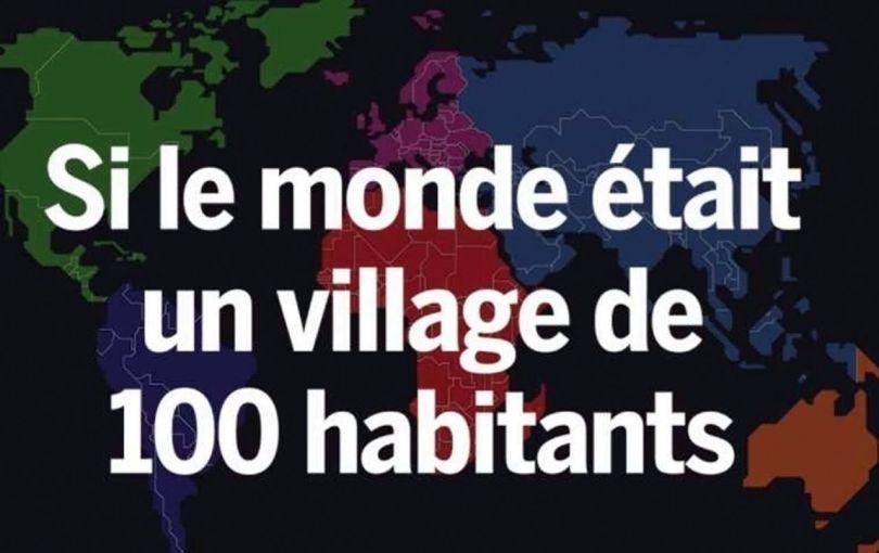Si le monde était un village de 100 habitants - 2