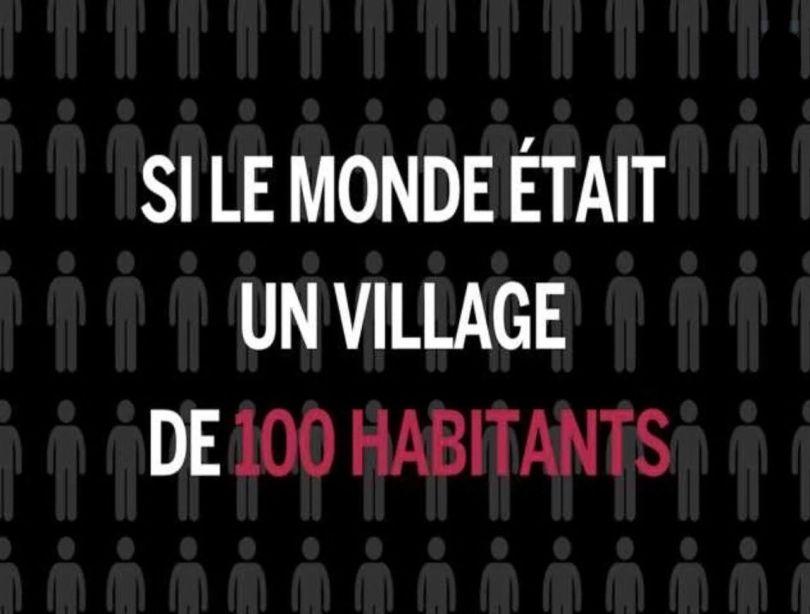 Si le monde était un village de 100 habitants - 3