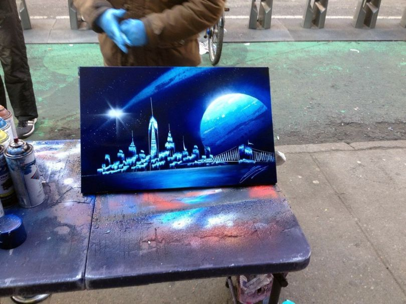 Spray Painting - Street Artwork - 2