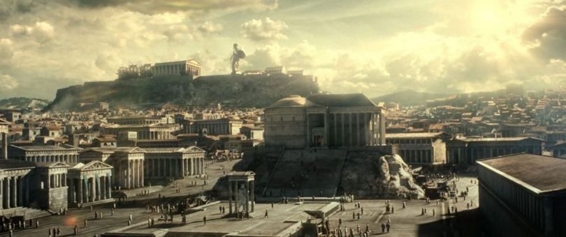 300 - Rise - Empire - Athenes - Wallpaper