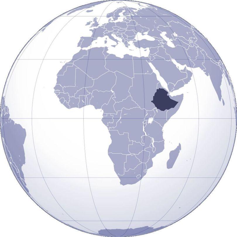 Carte - Ethiopie - Afrique