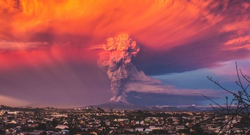 Chili - Eruption - Volcan - Calbuco - 1
