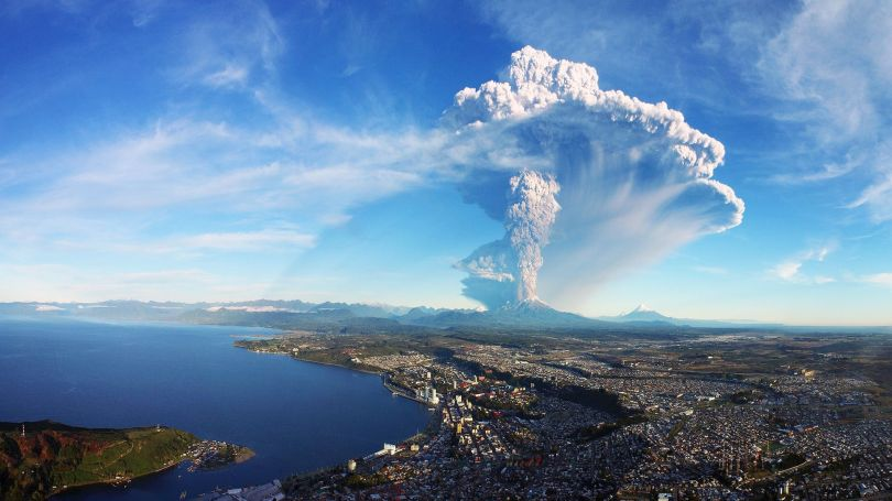 Chili - Eruption - Volcan - Calbuco - 2