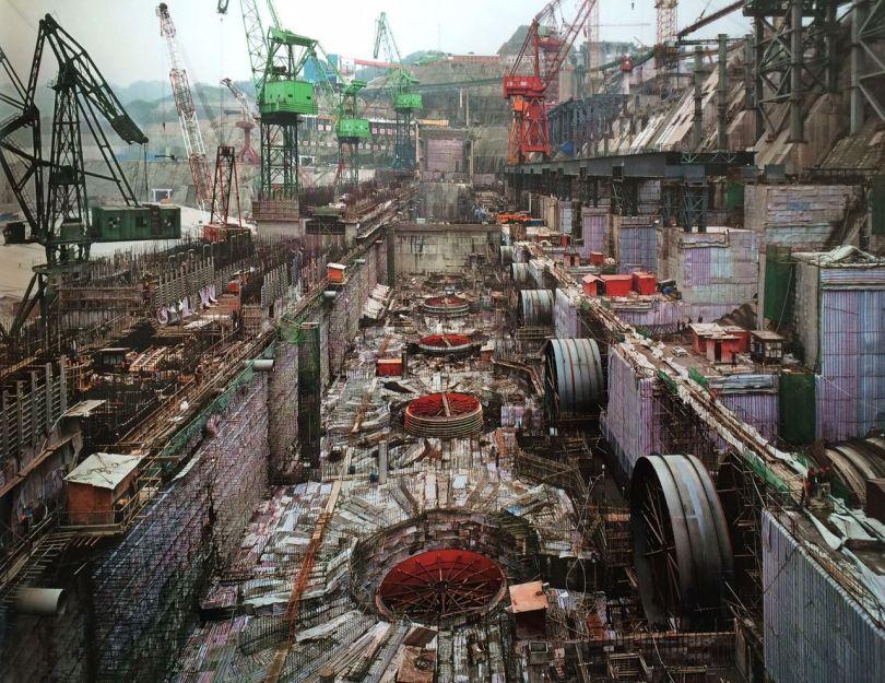 Construction du barrage des Trois-Gorges en Chine