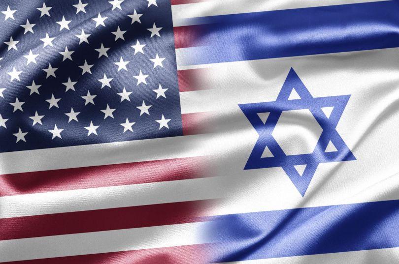 Drapeau - USA - Israël