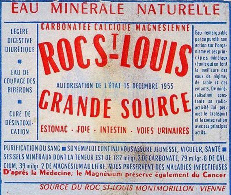 Eau minérale radioactive - 3