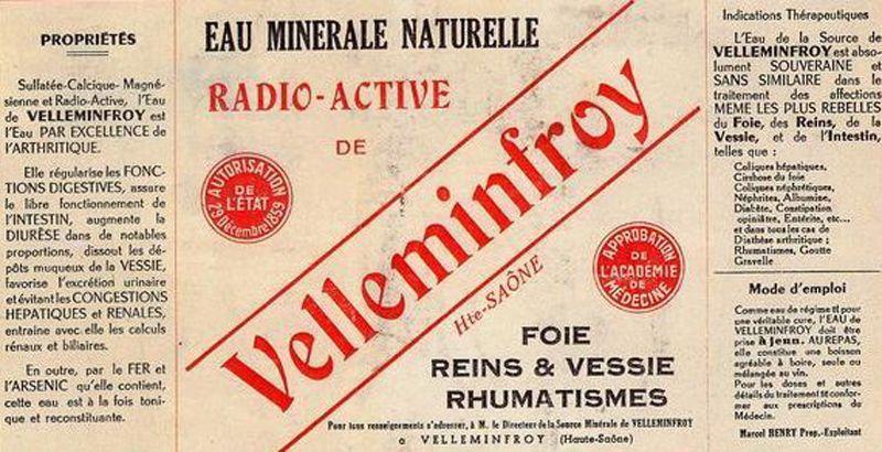 Eau minérale radioactive - 6