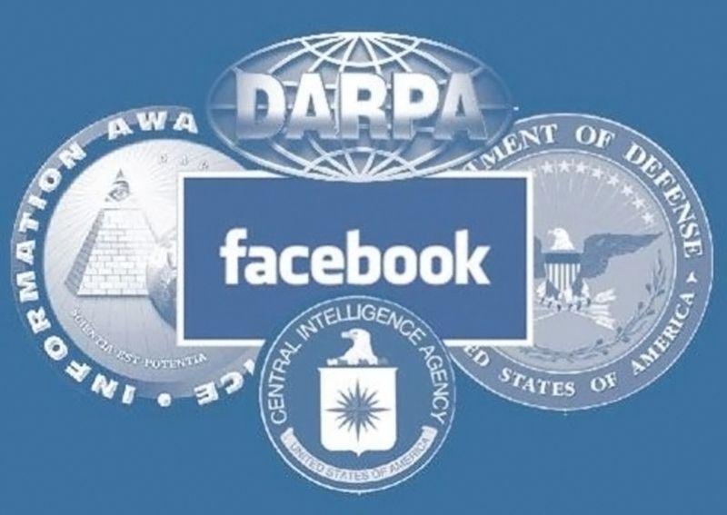 Facebook - DARPA - DIA - NSA