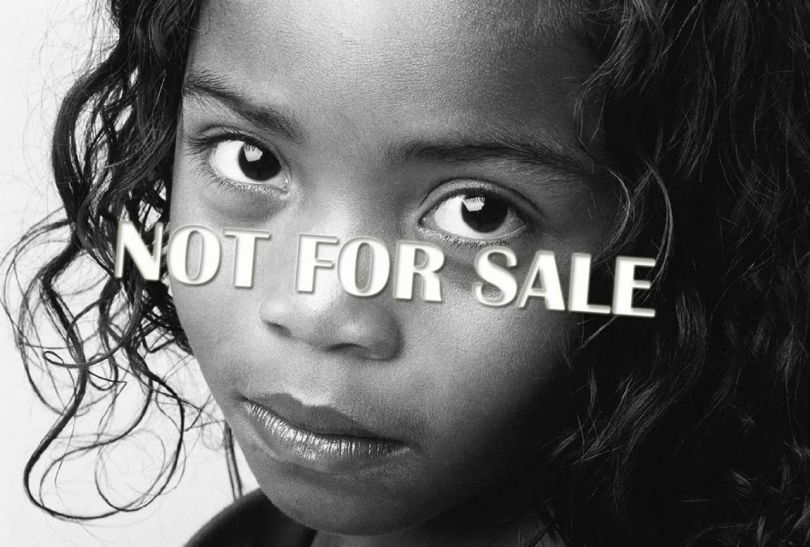 Human trafficking - No For Sale