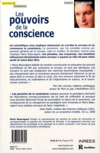 Les pouvoirs de la conscience - Mario Beauregard - 1