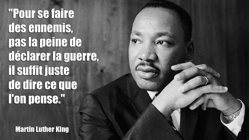 Martin Luther King - Citation