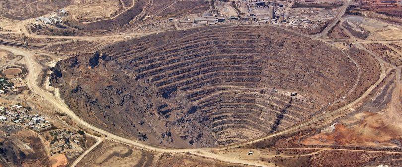 Mine de cuivre - Palabora - Afrique du Sud
